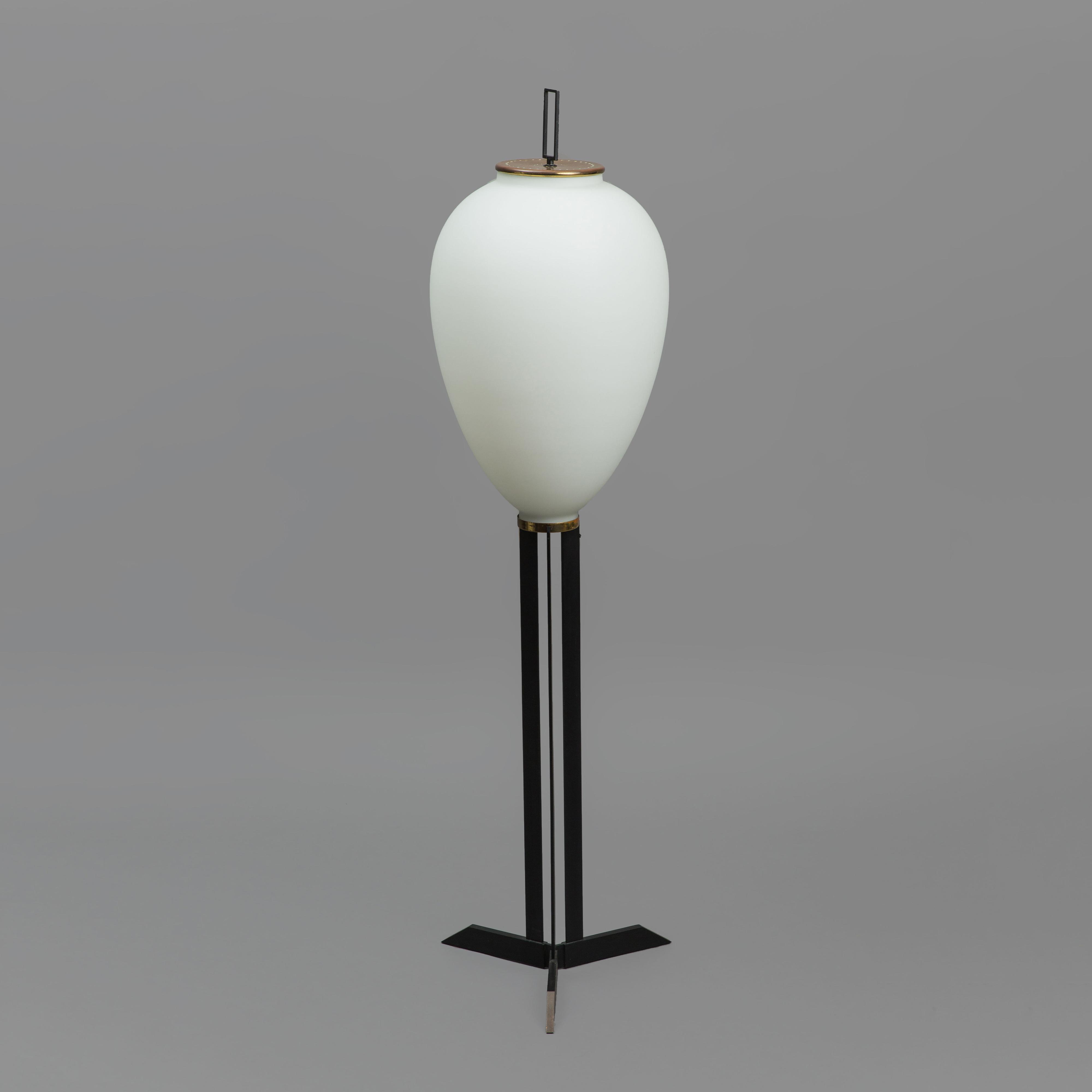 Rare 'Pinguino' Floor Lamp by Angelo Lelii for Arredoluce | soyun k.