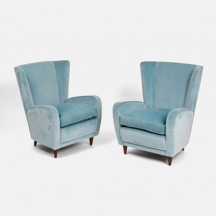 Pair of Lounge Chairs by Paolo Buffa | soyun k.