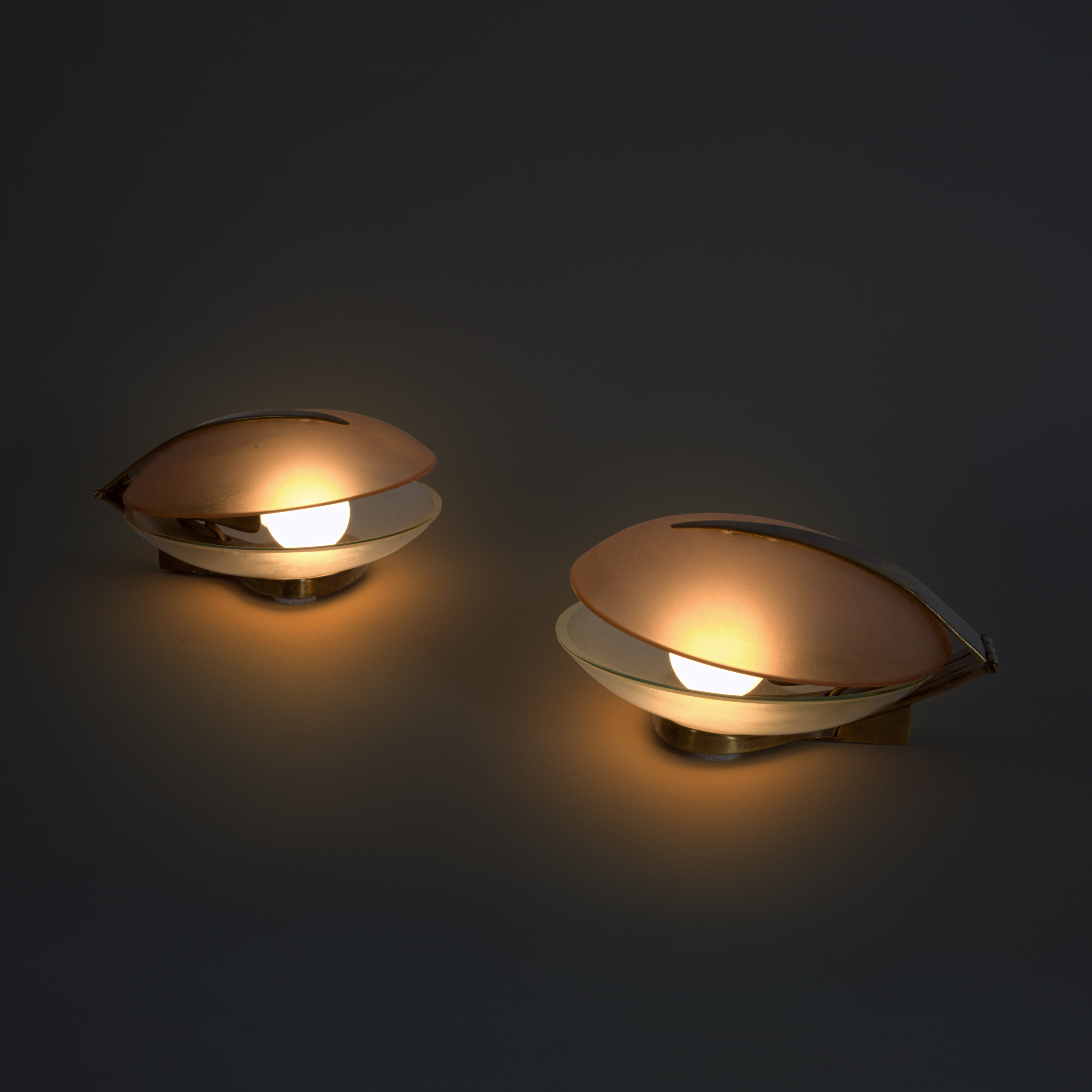 Pair of Table Lamps by Max Ingrand for Fontana Arte | soyun k.