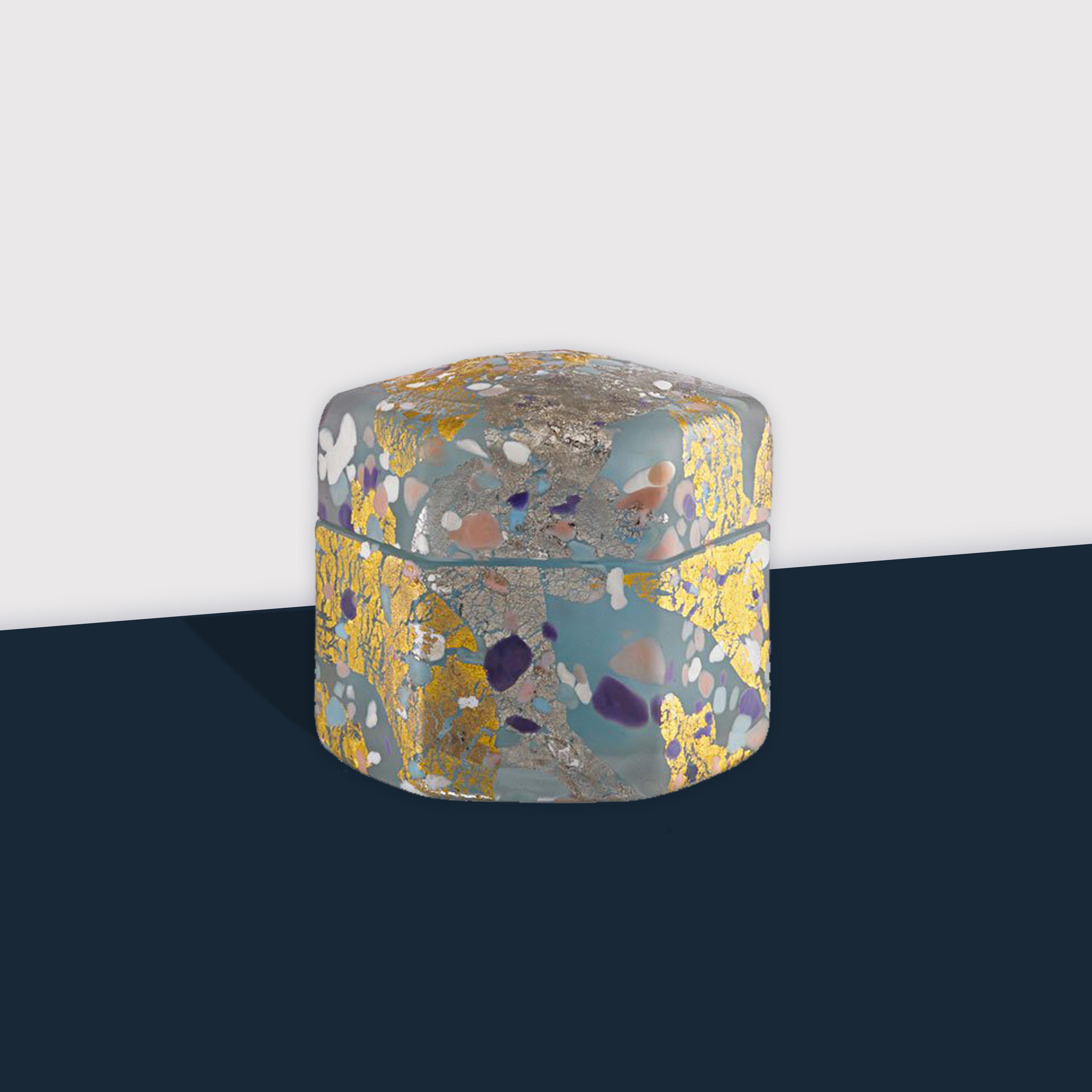 'Dream' Blown Glass Box by Kyohei Fujita | soyun k.