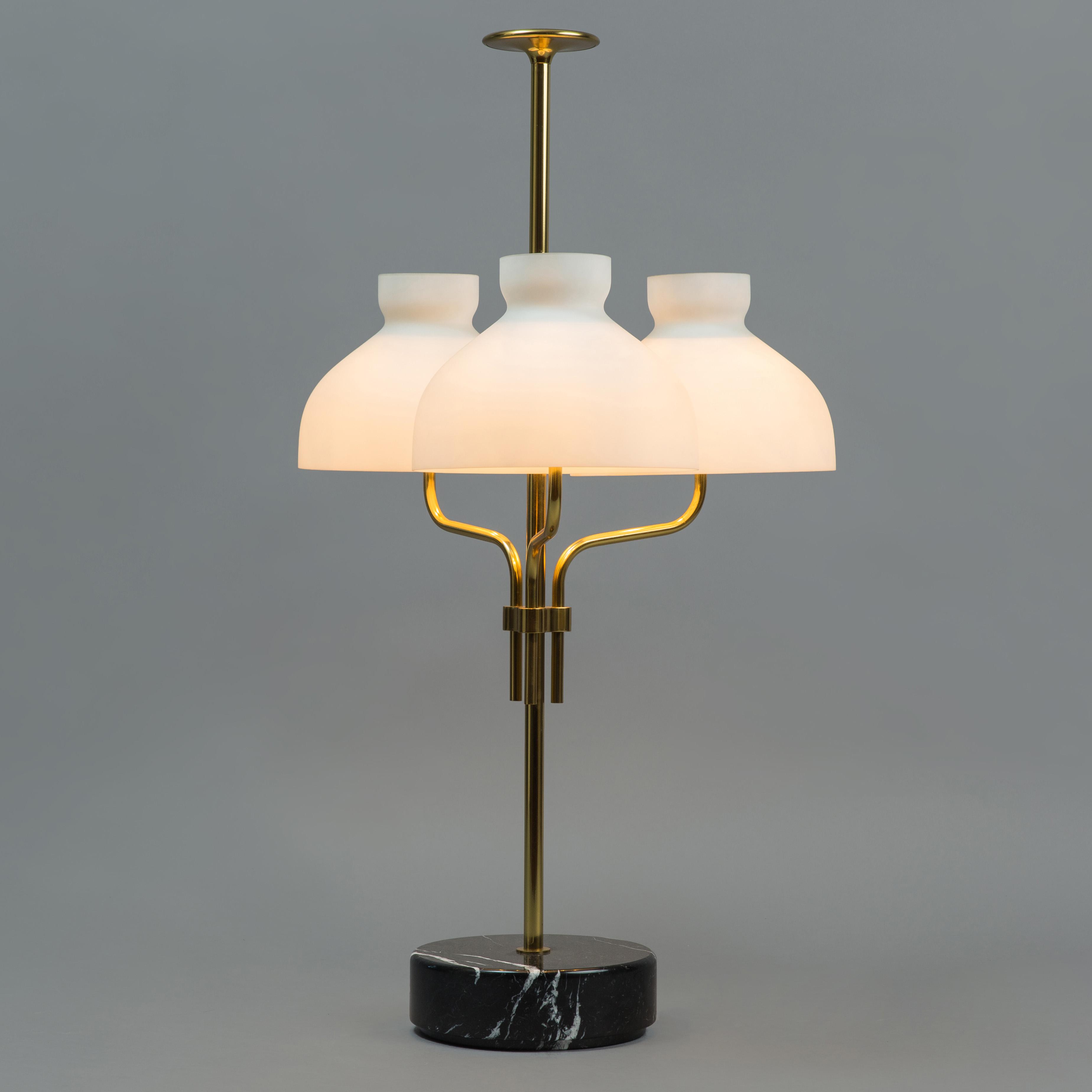 'Arenzano tre fiamme' Large Table Lamp by Ignazio Gardella for Azucena | soyun k.