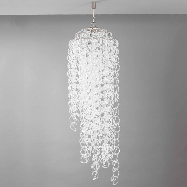 Giogali Chandelier by Angelo Mangiarotti for Vistosi | soyun k.