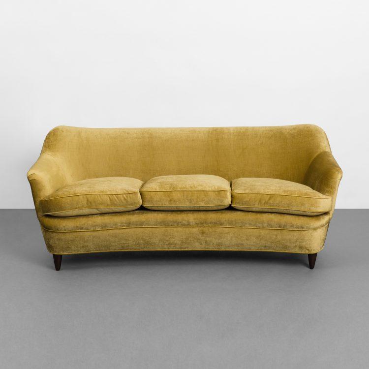 Curved Sofa by Gio Ponti for Casa e Giardino | soyun k.