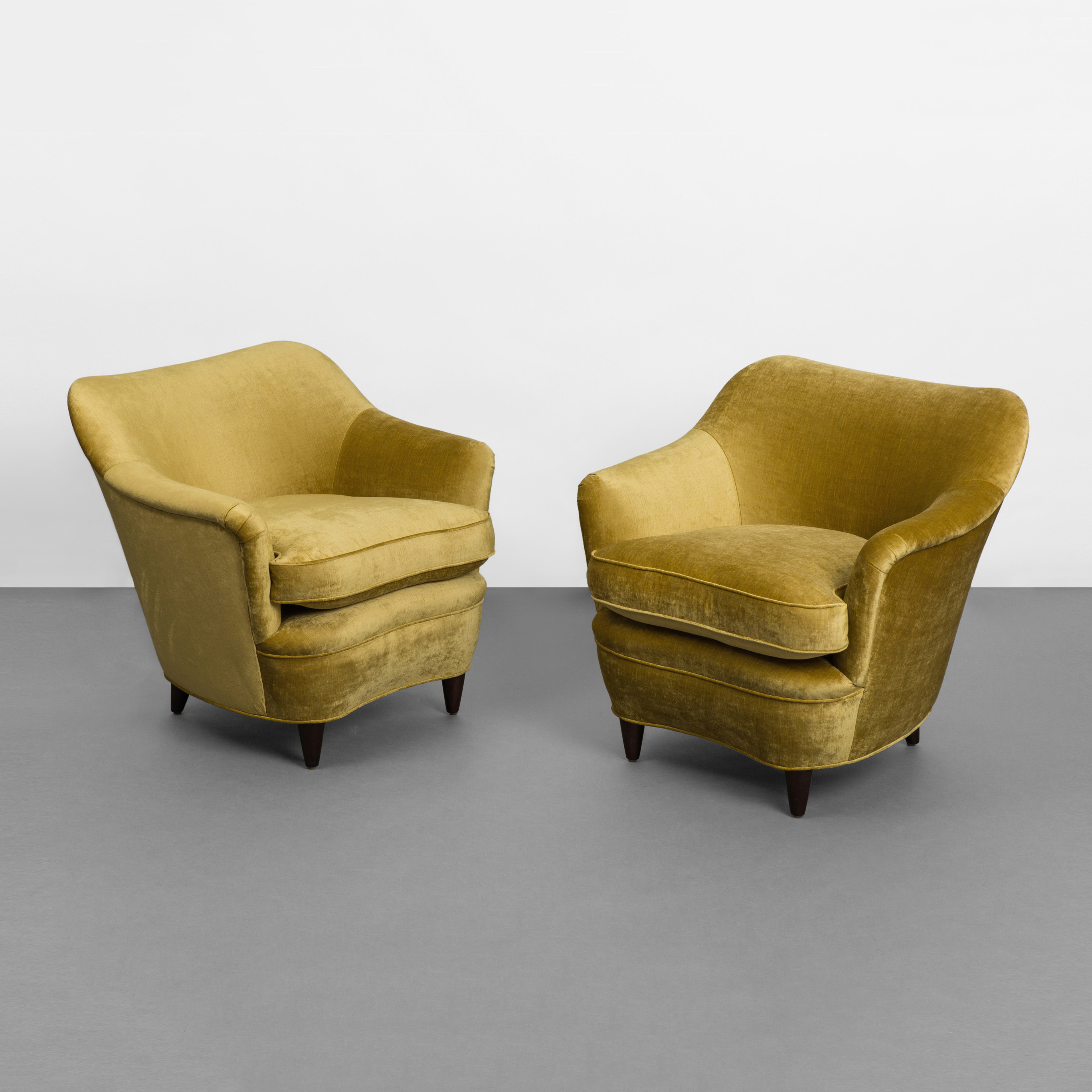 Pair of Armchairs by Gio Ponti for Casa e Giardino | soyun k.