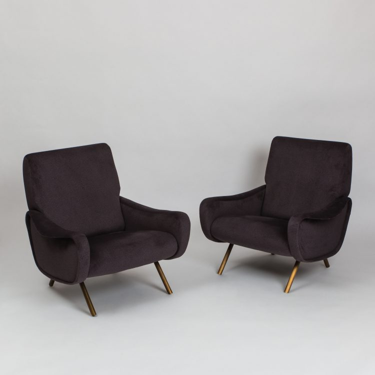 Pair of 'Lady' Chairs | Marco Zanuso for Arflex | Italy, circa 1955