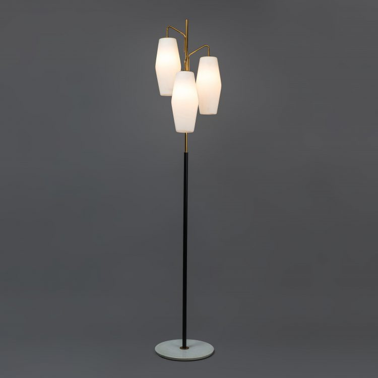 Floor Lamp, model 4052 by Stilnovo, stamped | soyun k.
