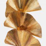 Pair of 3-leaf Ginkgo Floor Lamps by Carlo Giorgi for Bottega Gadda | soyun k.
