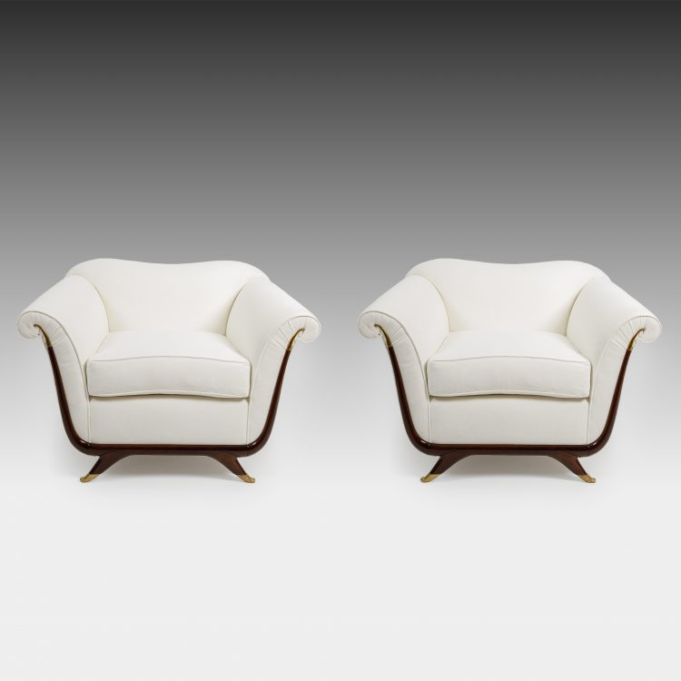 Pair of Armchairs by Guglielmo Ulrich, attributed to | soyun k.