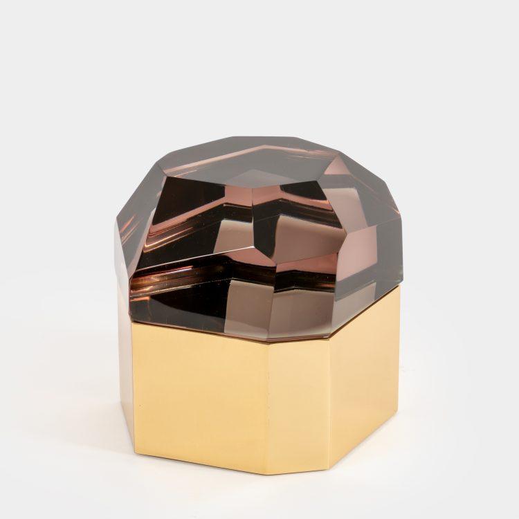 'Diamante Murano' Glass Box by Roberto Giulio Rida | soyun k.