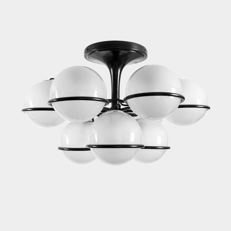Chandelier, model 2042/9 by Gino Sarfatti for Arteluce | soyun k.