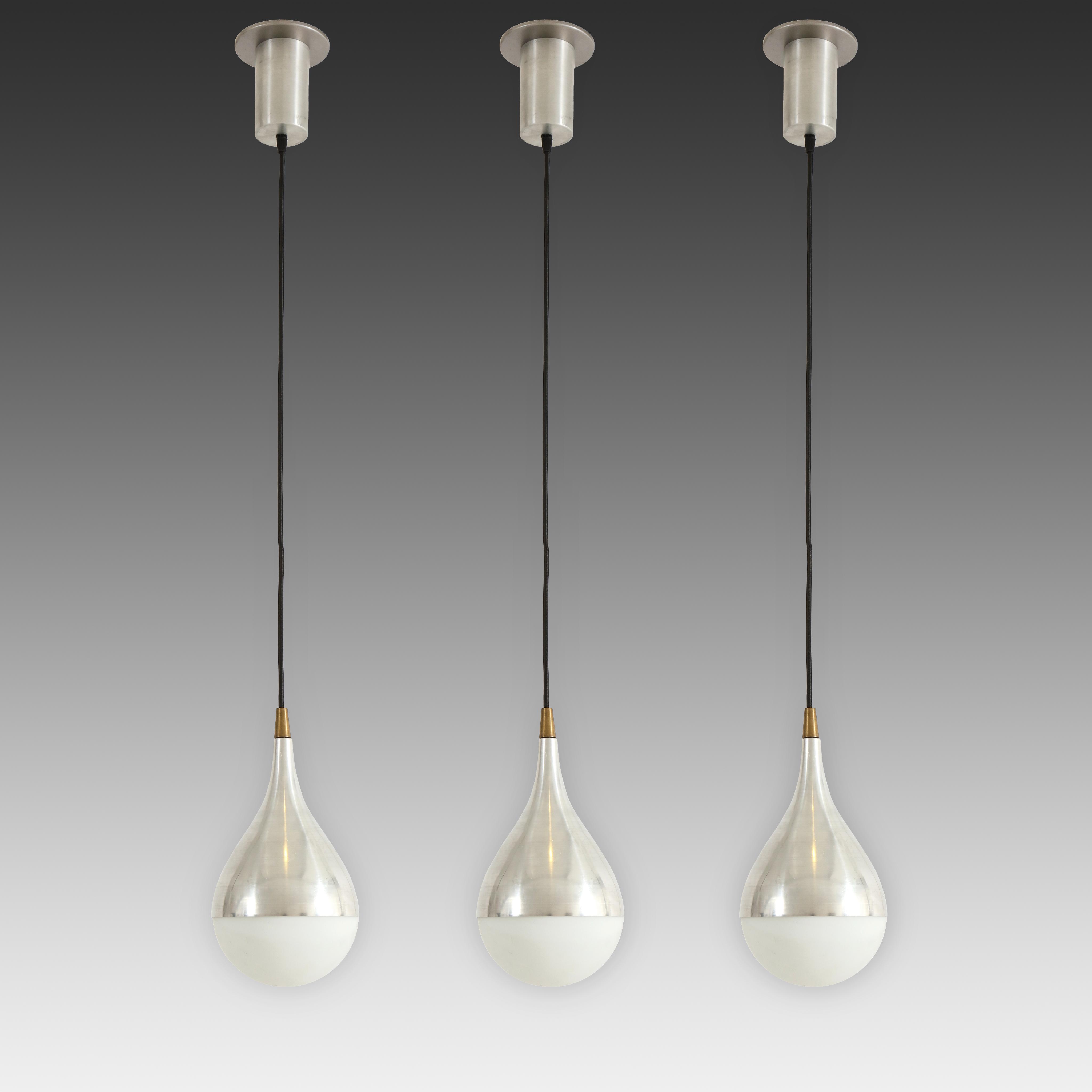 Set of Three Rare Pendants by Stilnovo   soyun k.