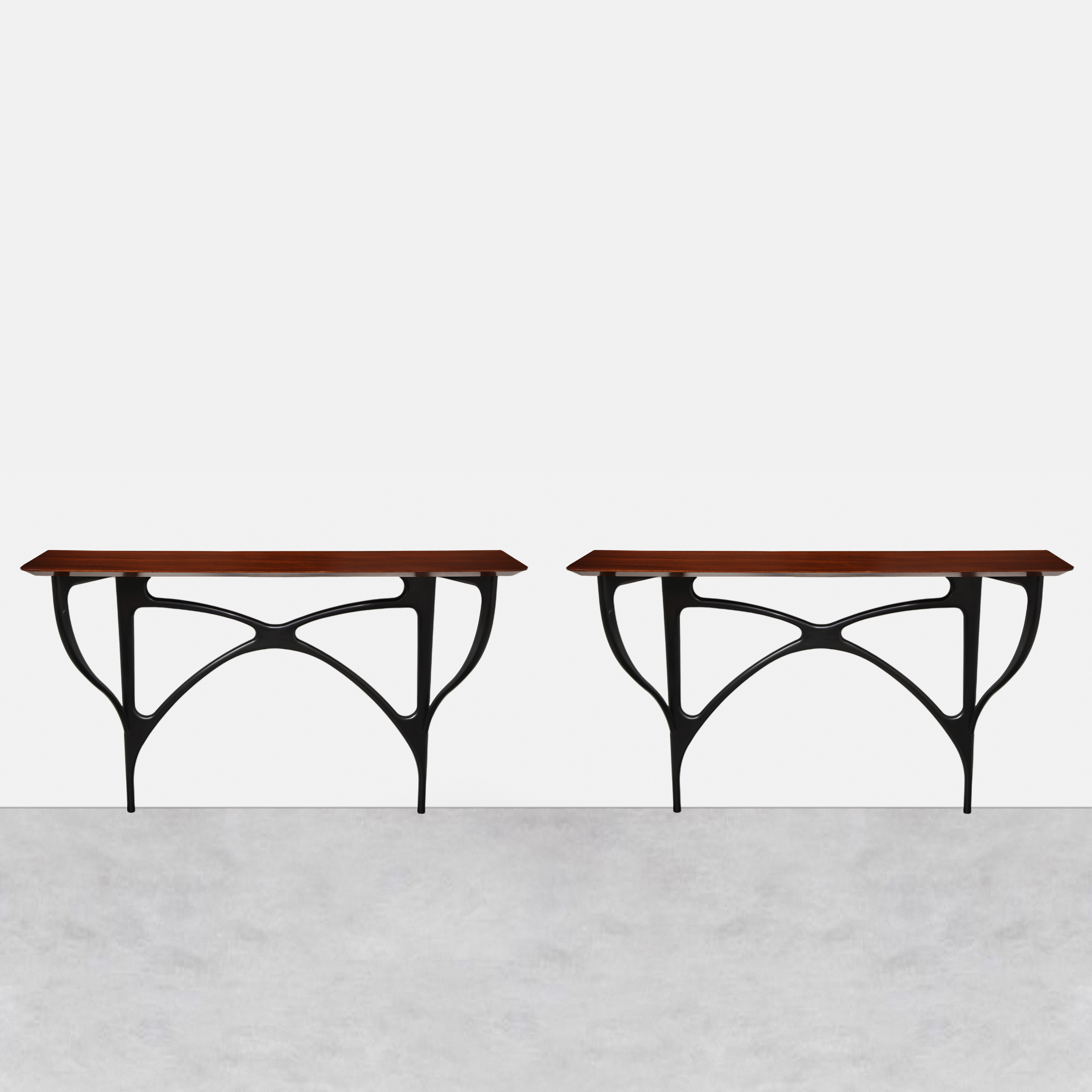 Pair of Consoles by Ico Parisi for ArteCasa | soyun k.
