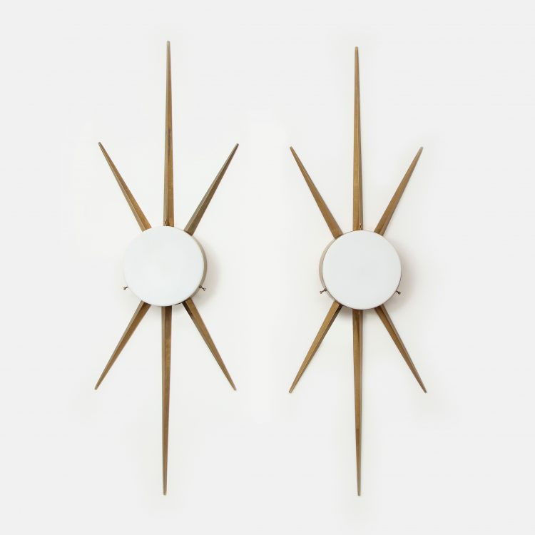 Rare Pair of Sconces or Ceiling Lights by Gio Ponti for Arredoluce | soyun k.