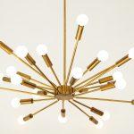 Rare 'Fuoco d'artificio' Sputnik Chandelier by Gino Sarfatti for Arteluce | soyun k.
