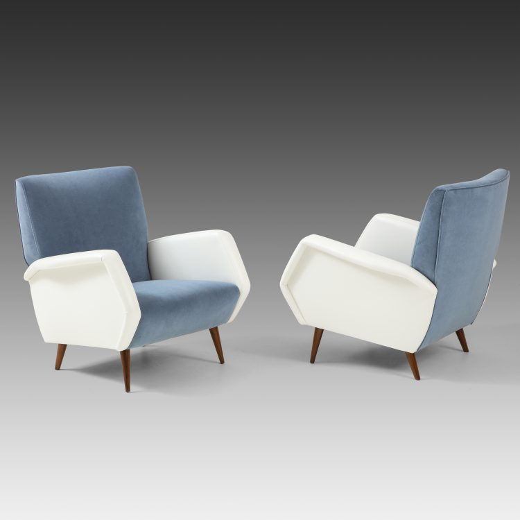 Pair of Armchairs Model 803 by Gio Ponti for Cassina | soyun k.
