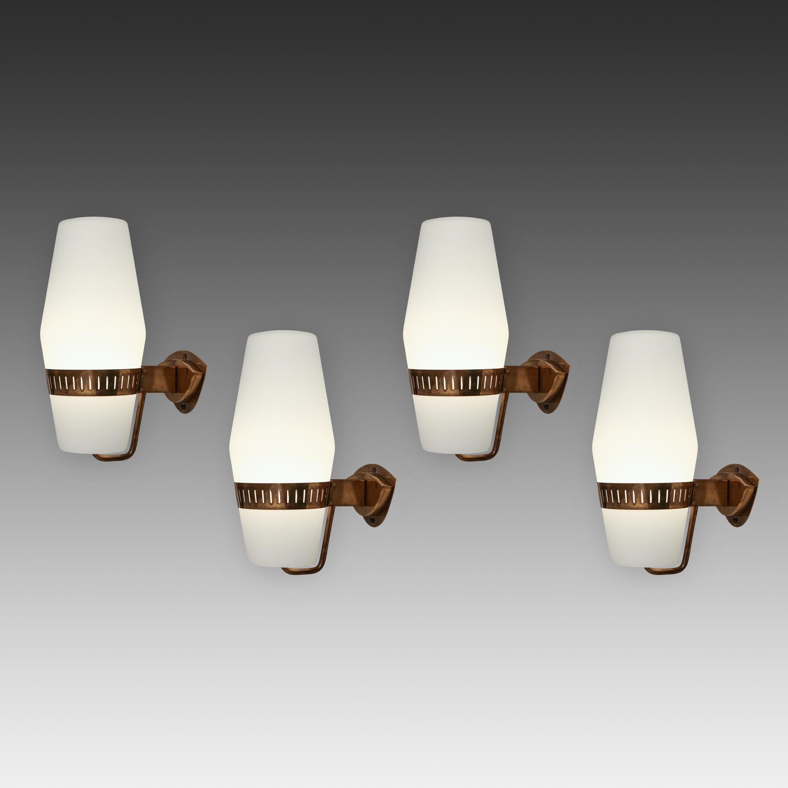 Set of Four Sconces Model 2078 by Stilnovo | soyun k.