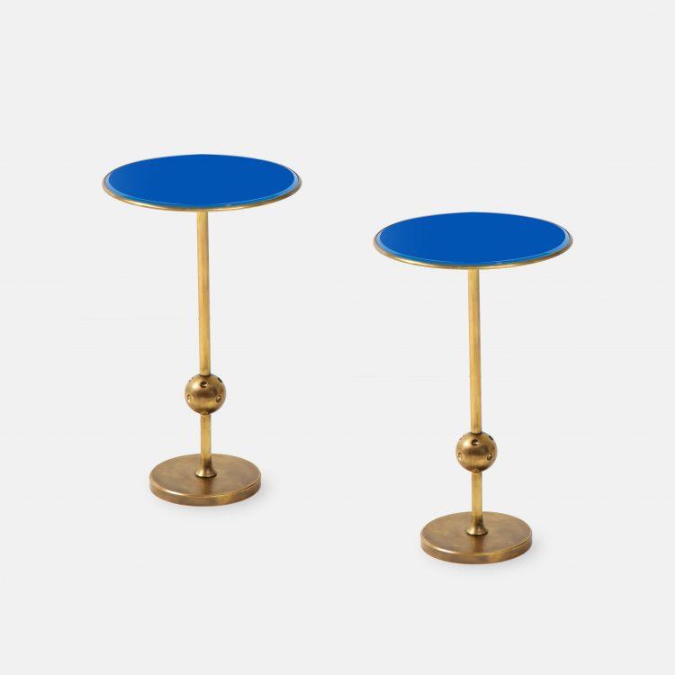 Rare Pair of T1 Side Tables by Osvaldo Borsani for Tecno | soyun k.