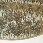 """Rare """"Eternal Forest"""" Coffee Table by Philip & Kelvin LaVerne   soyun k."""