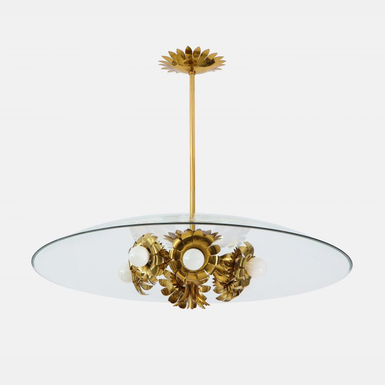 Rare Chandelier by Pietro Chiesa for Fontana Arte | soyun k.