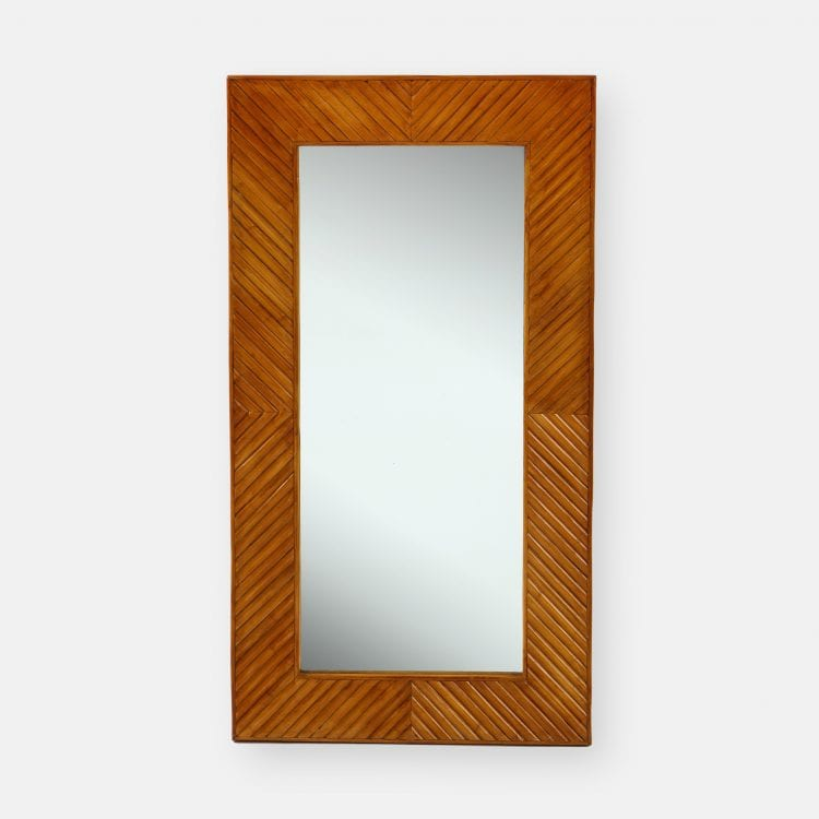 Handcrafted Bamboo Mirror by  | soyun k.